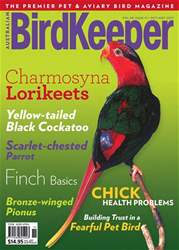 Australian Birdkeeper Magazine issue BirdKeeper Vol 30 Issue 11