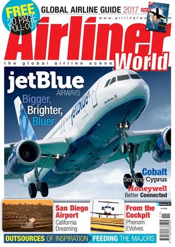 Airliner World issue  November 2017