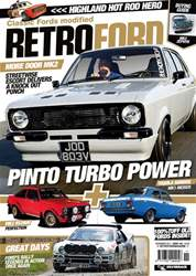 Retro Ford Magazine Cover