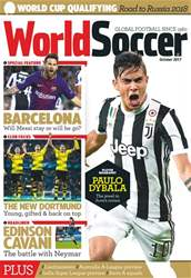 World Soccer issue October 2017
