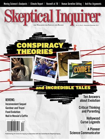 Skeptical Inquirer issue Nov/Dec 17