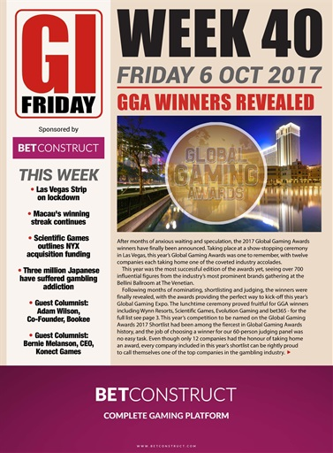 The Gambling Insider Friday Digital Issue