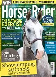 Horse&Rider Magazine – December 2017 issue Horse&Rider Magazine – December 2017