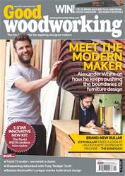 Good Woodworking Magazine Cover