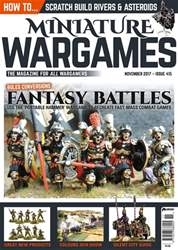 Miniature Wargames issue November 2017
