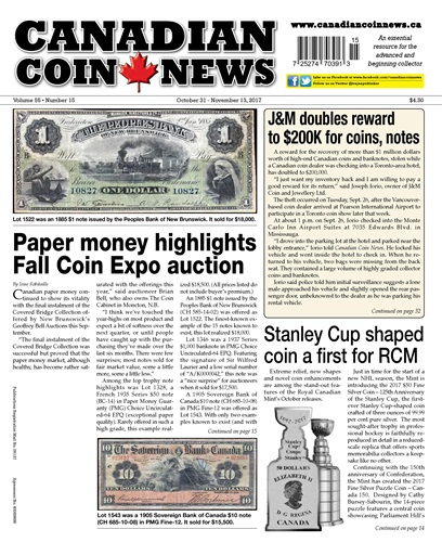Canadian Coin News Preview