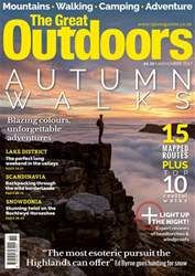 TGO - The Great Outdoors Magazine issue November 2017