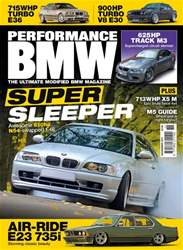 Performance BMW Magazine Cover