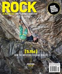 Rock and Ice issue November 2017, #246