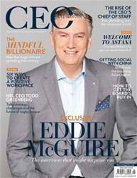 The CEO Magazine ANZ issue November 2017