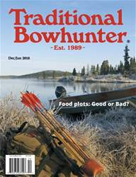 Traditional Bowhunter Magazine issue Dec/Jan 2018