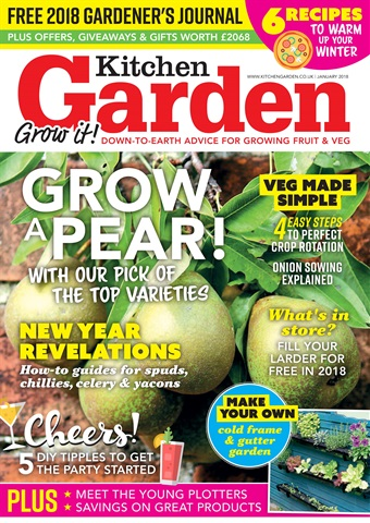 Kitchen Garden Magazine issue January 2018