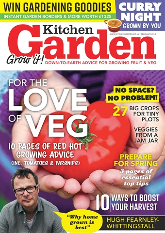 Kitchen Garden Magazine issue February 2018
