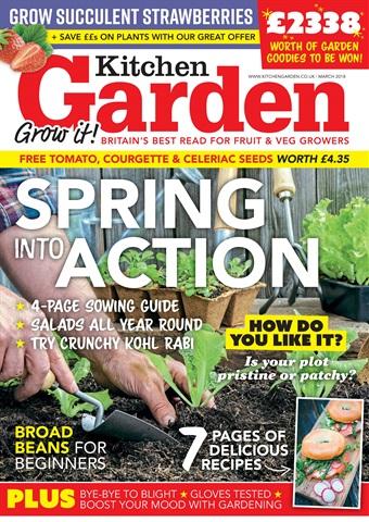 Kitchen Garden Magazine issue March 2018