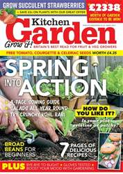 Kitchen Garden Magazine issue March 2018