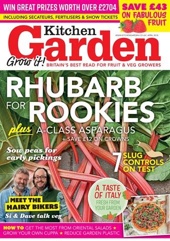 Kitchen Garden Magazine issue April 2018