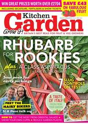 Kitchen Garden Magazine issue April 2018