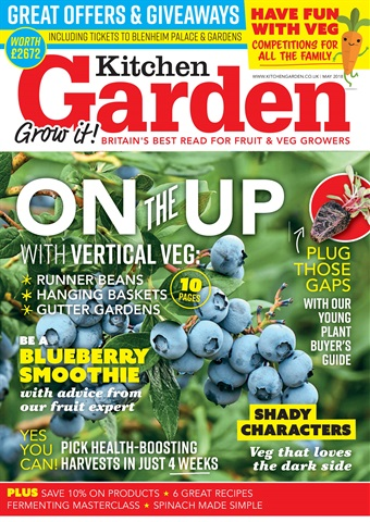 Kitchen Garden Magazine issue May 2018