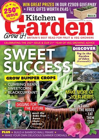 Kitchen Garden Magazine issue July 2018