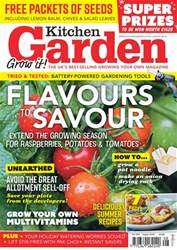 Kitchen Garden Magazine issue August 2018