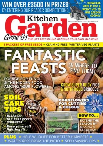 Kitchen Garden Magazine issue September 2018