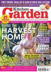 Kitchen Garden Magazine issue October 2018