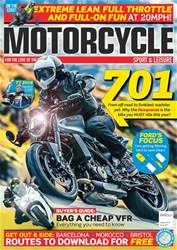 Motorcycle Sport & Leisure issue August 2018
