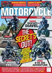 Motorcycle Sport & Leisure issue September 2018