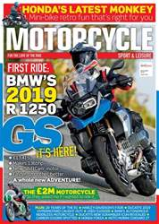 Motorcycle Sport & Leisure issue November 2018