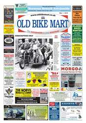 Old Bike Mart issue May 2018