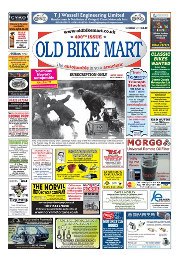 Old Bike Mart Digital Issue