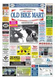 Old Bike Mart issue October 2018