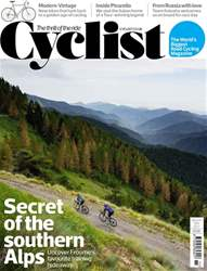 Cyclist issue November 2017