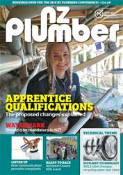 NZ Plumber October-November 2017 issue NZ Plumber October-November 2017