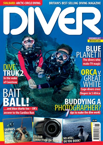 DIVER issue NOVEMBER 2017