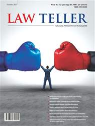 Lawteller – A Legal Awareness Magazine issue October 2017
