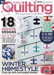 Love Patchwork & Quilting issue Issue 53