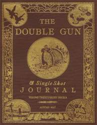 Double Gun Journal issue Autumn 2017