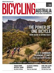 Bicycling Australia Magazine Cover