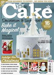 Cake Decoration & Sugarcraft Magazine issue December 2017
