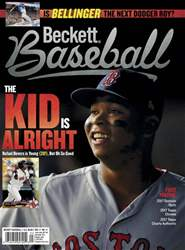 Beckett Baseball issue November 2017