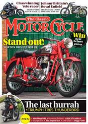 The Classic MotorCycle issue May 2018