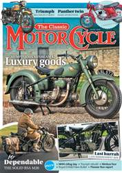 The Classic MotorCycle issue June 2018