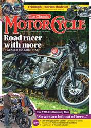 The Classic MotorCycle issue August 2018
