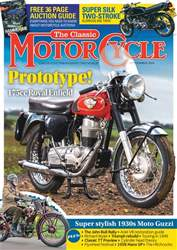 The Classic MotorCycle issue September 2018