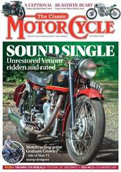 The Classic MotorCycle issue October 2018