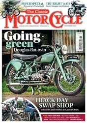 The Classic MotorCycle issue November 2018