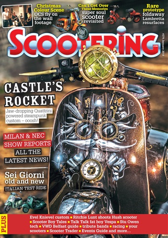 Scootering issue January 2018