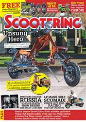 Scootering issue April 2018