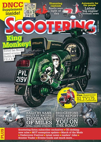 Scootering issue June 2018